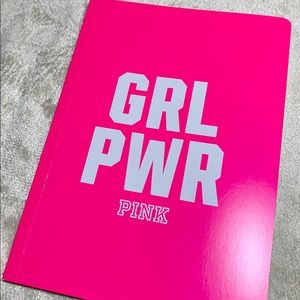 PINK GRL PWR Notebook